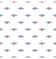 constitution day pattern seamless vector image