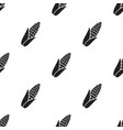 corn icon black singe vegetables icon from the vector image