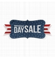 Independence Day Sale patriotic Label vector image vector image
