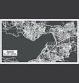 izmir turkey map in retro style vector image