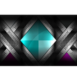 luxury metallic backgrounds vector image vector image