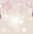 snow blur pattern christmas winter holiday snowy vector image vector image