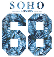 soho london vector image