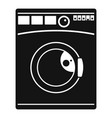 wash machine icon simple style vector image vector image