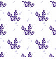 stylized branches on a white background vector image