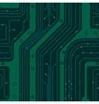 circuit board pcb vector image vector image