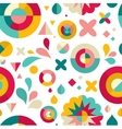 geometric pattern ans background vector image