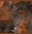 polygonal square background chocolate caramel vector image vector image