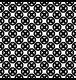 seamless pattern black white buttons circles vector image vector image