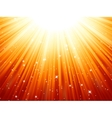 sunburst rays sunlight template eps 8 vector image vector image