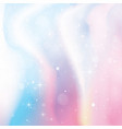 unicorn holographic color gradient background vector image vector image