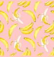 watercolor banana pattern