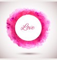 ring-pink-love vector image vector image