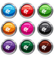 roulette construction set 9 collection vector image vector image