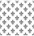 royal lily seamless pattern vector image