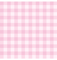 Tile pink plaid decoration background or pattern vector image vector image
