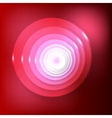 abstract background Red Circles vector image vector image