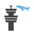 air control tower vector image