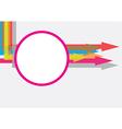 Arrow texture Concept vector image vector image
