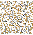 beautiful seamless background with tree branches