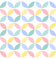 Colorful geometric circle seamless pattern vector image vector image