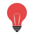 colorful lightbulb icon graphic vector image