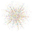 festive confetti celebration stars colorful conf vector image vector image