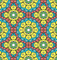 geometric designs floral patterns vector image