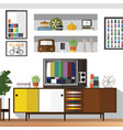 home space design vector image vector image