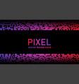pixel mosaic background halftone pattern vector image