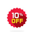 sale tag badge template 10 off label