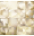 Set of Light gold background EPS 10 vector image vector image