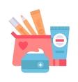 Skin corrective cosmetics vector image vector image