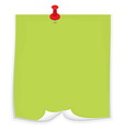 Sticky note5 resize vector image vector image