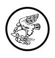 symbol of american samoa icon - iconic design vector image