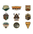traveling outdoor badge collection scout camp