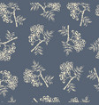 tree branches rowanberry seamless pattern vector image vector image