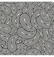 Black and white seamless pattern for coloring vector image