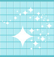 cleaning star background vector image vector image