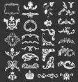 decorative vintage design elements vector image vector image