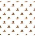 galleon pattern seamless vector image