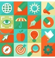 graphic design concept in flat style vector image vector image