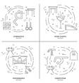 Gymnastics Concept vector image vector image