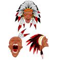 native warriors vector image
