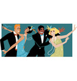 Roaring 1920s party vector image vector image