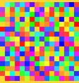 seamless random squares mosaic tiles pixelated vector image