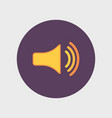 speaker icon volume max vector image vector image