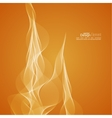 Abstract background with tongues of fire vector image vector image