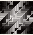 abstract geometric pattern with stripes seamless vector image vector image