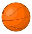 Basketball icon cartoon style vector image vector image